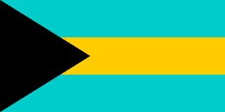 the bahamian flag
