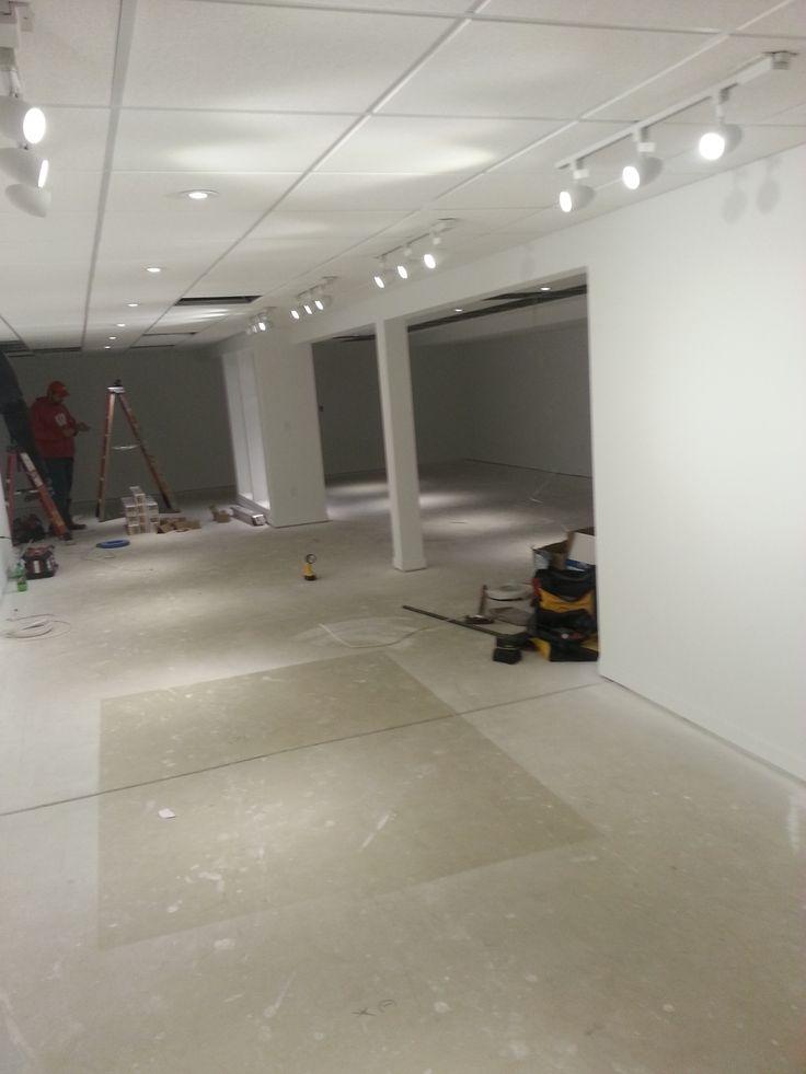 goodens basement drop ceiling optical pinterest