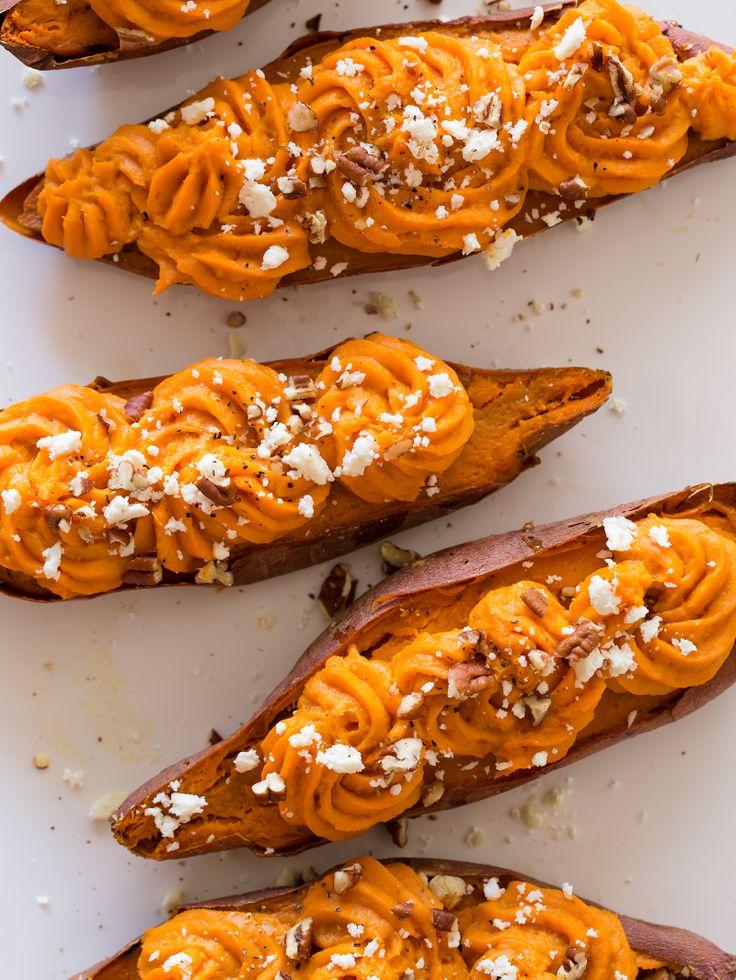 twice-baked-sweet-potatoes | Food | Pinterest