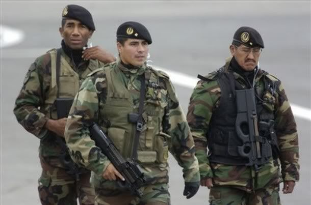 peruvian military forces | Thread: Todays Pics, Friday, May 16th, 2008
