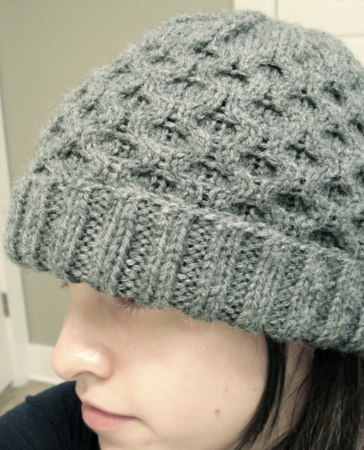 Cable Knit Hat Pattern Free : Honeycomb cable hat Crafts: Needle/Knit Pinterest