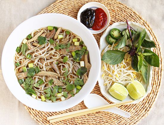 Homemade Turkey Pho. Perfect use of that leftover turkey carcass from ...