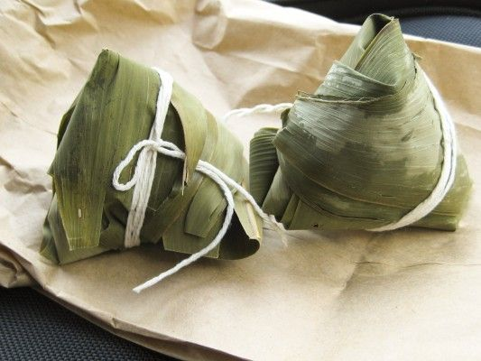 Zongzi – Sweet Dumplings with Red Bean | Chinese | Pinterest