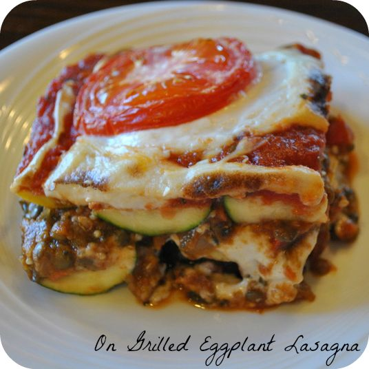 Eggplant Lasagna | Jeannie & the Purple Eggplant! | Pinterest