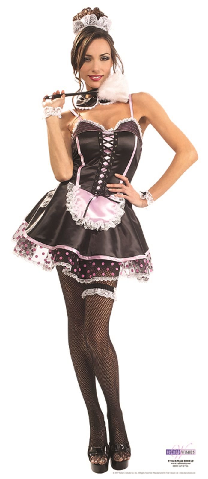 French Maid Pin Up