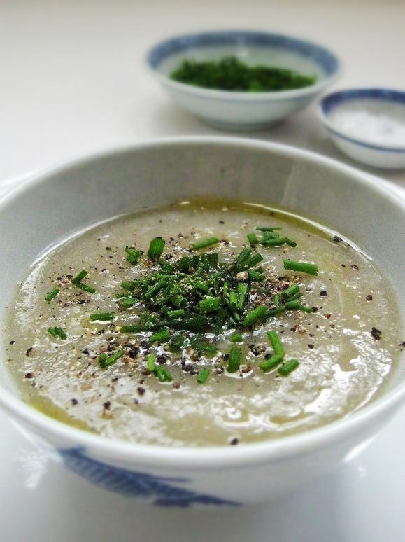 Jerusalem Artichoke Soup | f o o d + plating | Pinterest