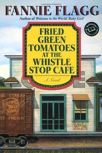Fried Green Tomatoes at the Whistle Stop Cafe (Ballantine Reader's Circle) by Fannie Flagg, http://www.amazon.com/dp/0449911357/ref=cm_sw_r_pi_dp_BB.Ppb0HVQVQ3