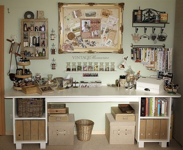 Vintage Craft Room 600 x 491