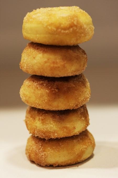 Cinnamon-Sugar Baked Doughnuts