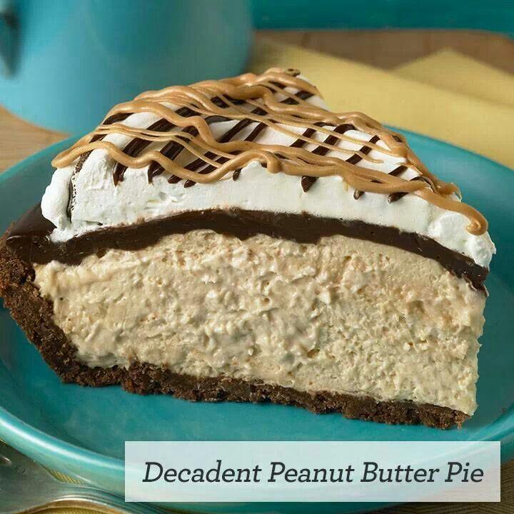 Peanut butter pie | Desserts | Pinterest