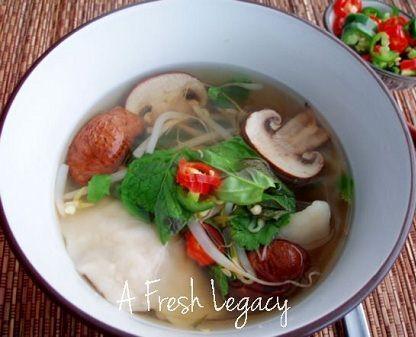 Pork Dumpling Soup | Soups & Stews | Pinterest