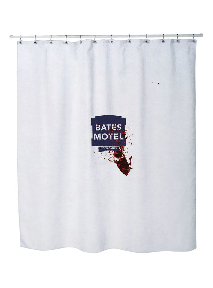 Bates Motel Bloody Logo Shower Curtain | Hot Topic