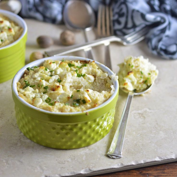 ... Gratin with Goat Cheese - Low Carb - Use full fat cream cheese for