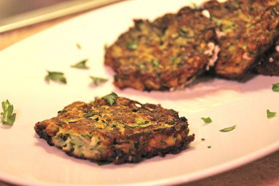 Zucchini Latkes Recipe - A Great Thanksgivukkah dish
