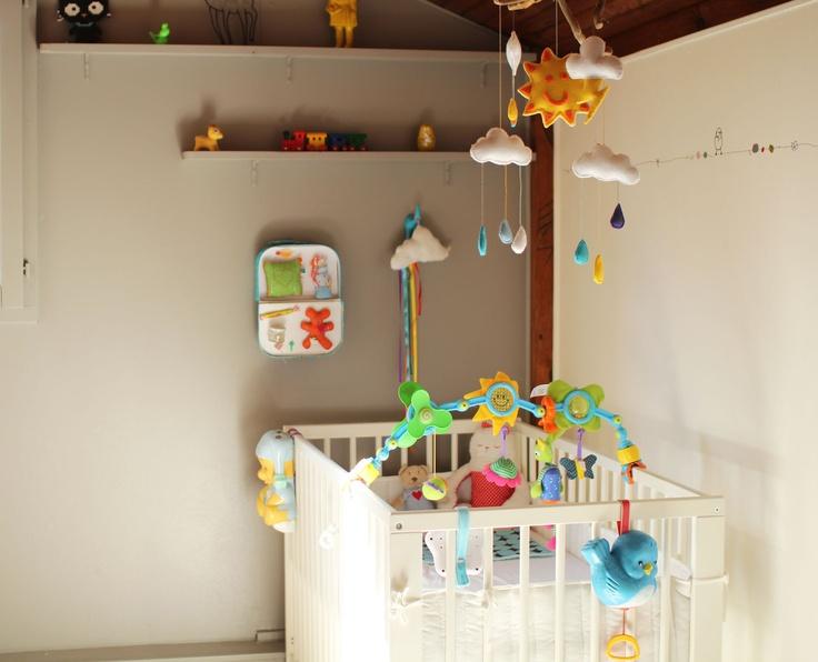 Couleur Peinture Bleu Vert : Chambre décoration bébé  Bébés  Enfants Chambres  Pinterest
