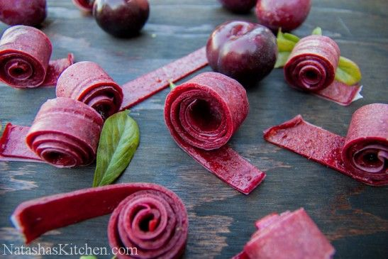 How to Make Plum Fruit Leather | Recipe