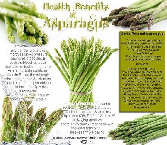 Asparagus | Feel-Good Fuel | Pinterest