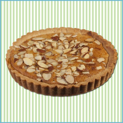 Almond Raspberry Cookie Pie - Our classic butter cookie is blessed ...