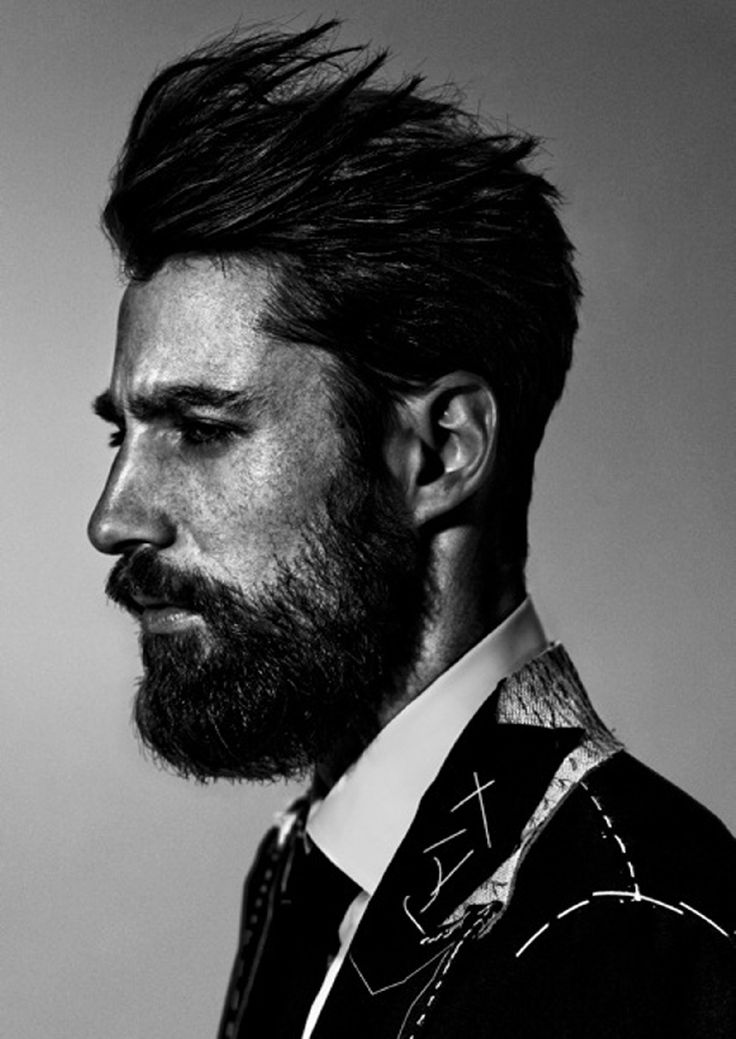 Unfinished suit #mens #beard #kysa | Manly Man | Pinterest