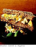 Egg Salad with Tarragon Mustard | Delish!! | Pinterest