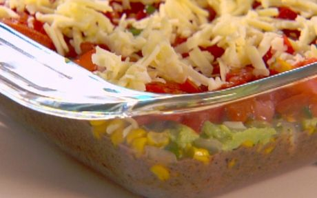 Healthier 5 Layer Mexican Dip | Recipes | Pinterest