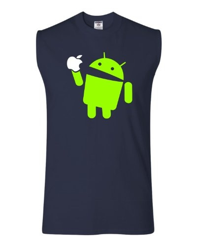 adult android apple funny shirt bacpnhlw