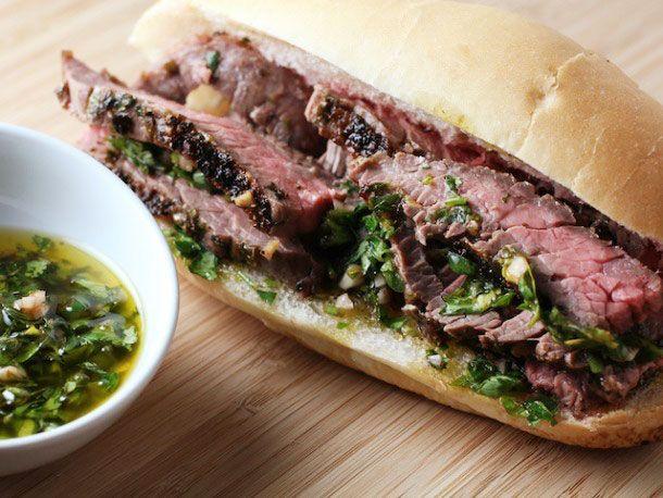 Steak & Chimichurri Sandwiches