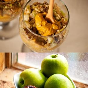 layered apple pie & pumpkin pie mousse | Sweet Tooth | Pinterest