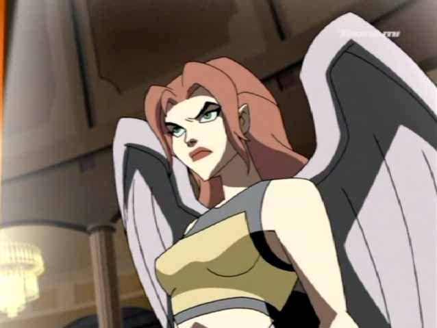 Hawkgirl in the Glamou...