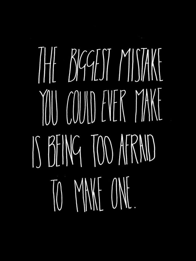 the biggest mistake ...
