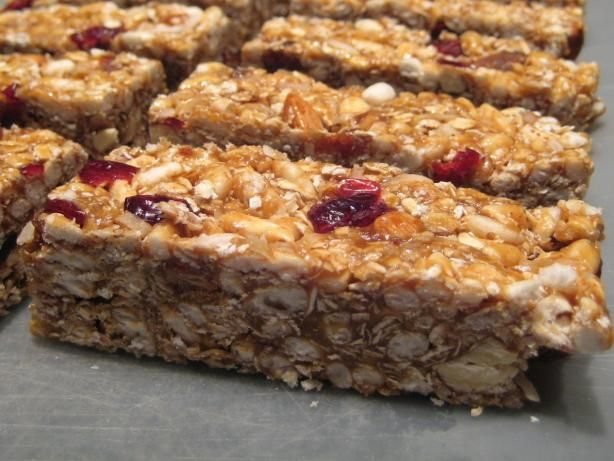 Just like Starbucks old Chewy Fruit and Nut Bars? Those were SO good!!