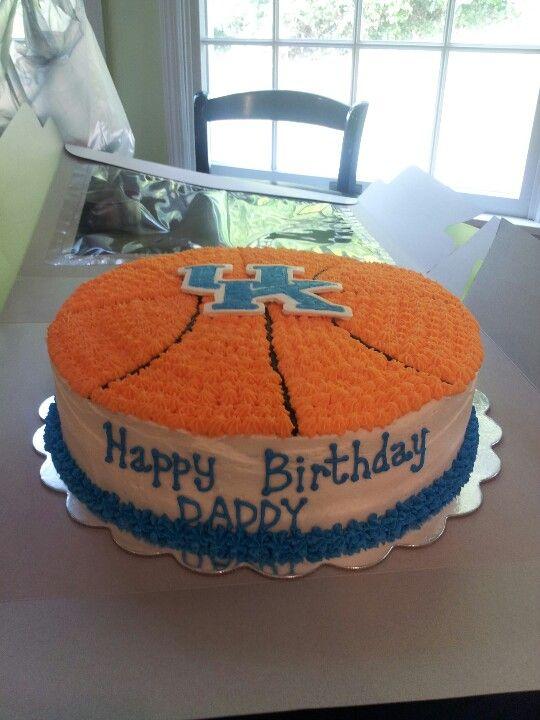 kentucky basketball cakes