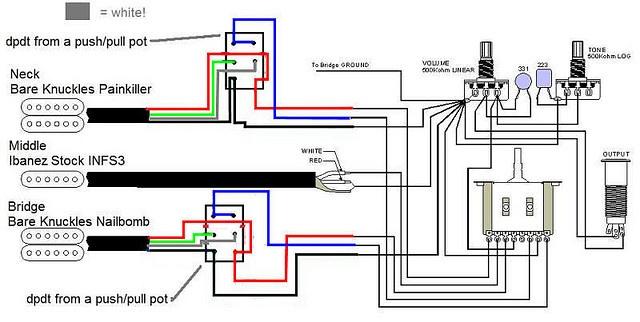 ibanez rg wiring diagram push pull ibanez free engine image for user manual