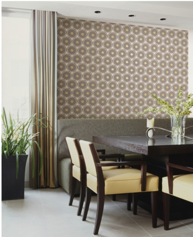 add dimension with this wallpaper design from the hgtv home by sherwin