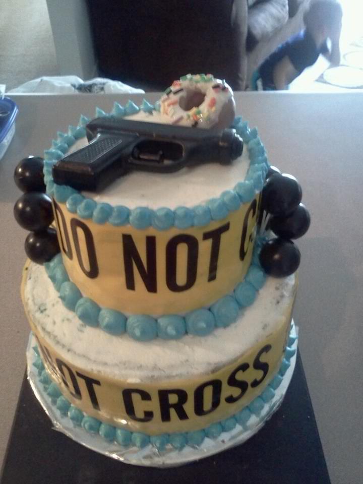 Cake Design For Police : Police cake! - Graduation Ideas police Pinterest