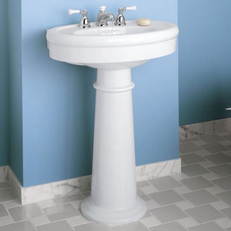 American Standard Pedestal Bathroom Sinks : American Standard Standard Pedestal Sink - 0283.800