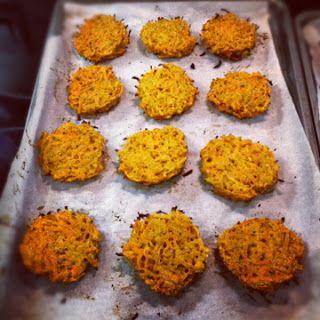 Carrot Sweet Potato Latkes | BURPEE BREAKFASTS | Pinterest
