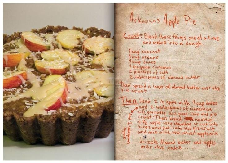 """Arkansas Apple Pie from """"Good Heart Recipe Book"""" by Jonsi & Ale..."""