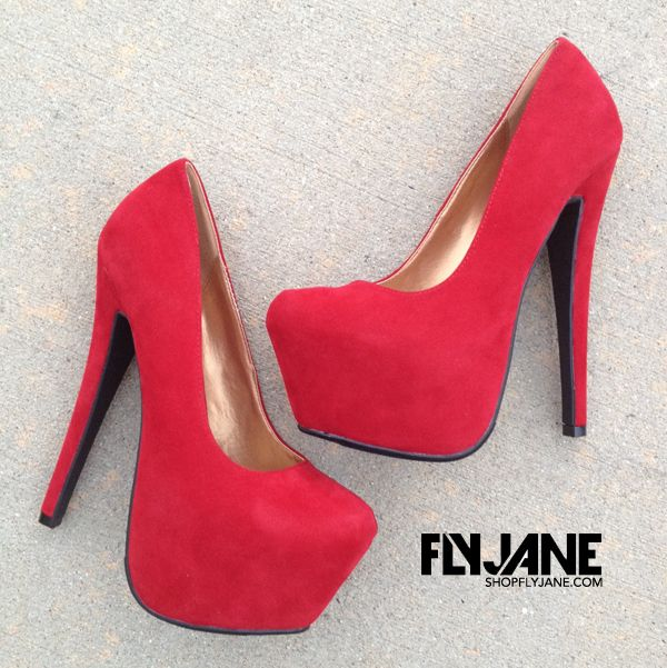 Red Heels at FLYJANE Only $58