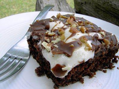 Vegan Mississippi Mud Cake {Vegan Thyme}