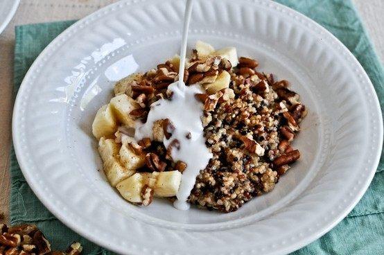 coconut milk breakfast quinoa | inspire my food | Pinterest