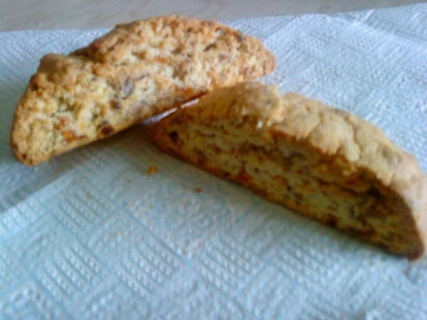 Apricot Biscotti. Photo by WicklewoodWench