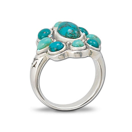 """Pieces Of Heaven"""" Turquoise Ring"""