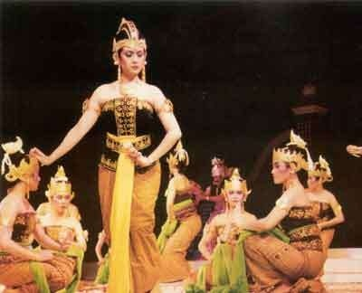 Javanese Dance Traditional costumes