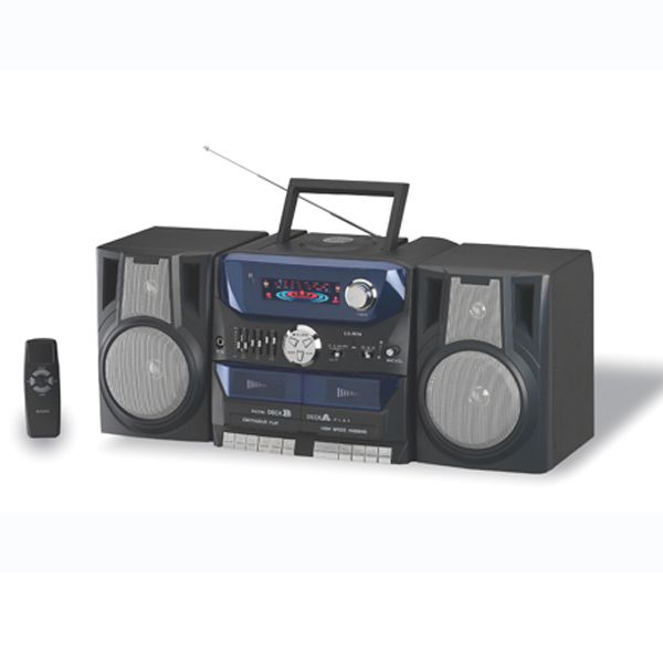Cd player with cassette