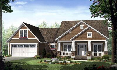 New Craftsman Homes Bing Images Houses Pinterest