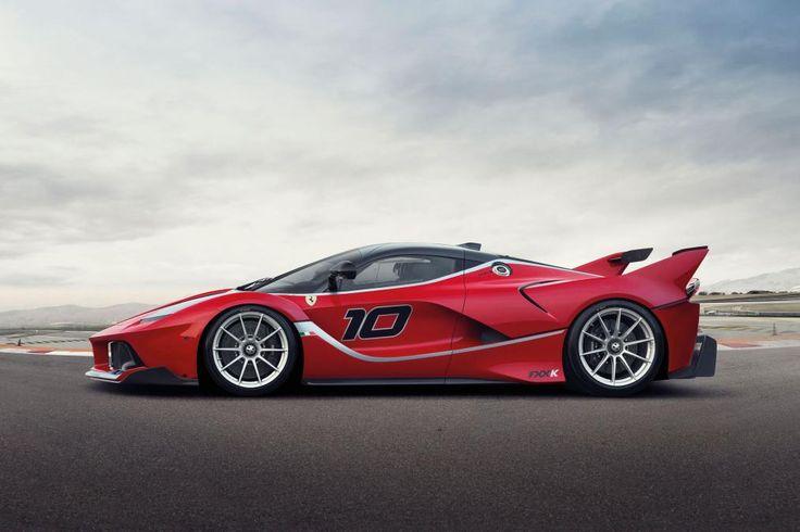 Ferrari LaFerrari FXXK - profile