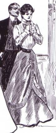 1900s Tailored Blouse and Skirt-- I picture Valancy's early, everyday