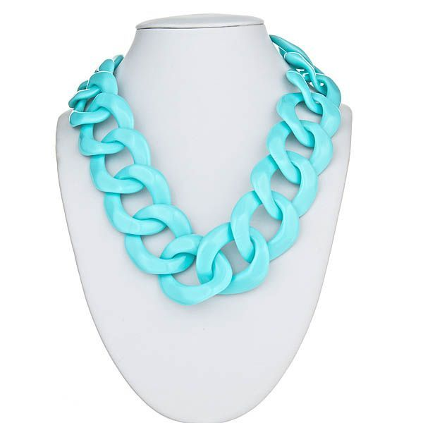 We are LOVING the link necklaces for summer! For sale this Wednesday, 4/17, on our Facebook Auction! http://www.facebook.com/pages/Accessory-Concierge/391627610852617