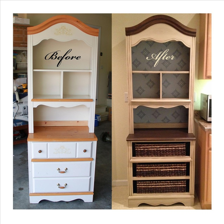 Hutch upcycle furniture makeovers pinterest for Furniture upcycling